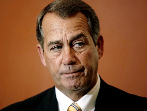Boehner has decided that he