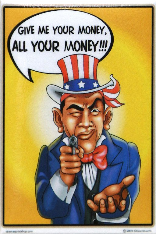 obama give me your money