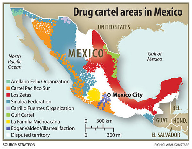 In Mexico, Tweeting About Drug Cartels Can Be Fatal