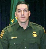 "Border Patrol agent Brian A. Terry called out, ""I'm hit,"" after a bullet pierced his aorta. He died at the scene. Image courtesy of AP/Washington Times"