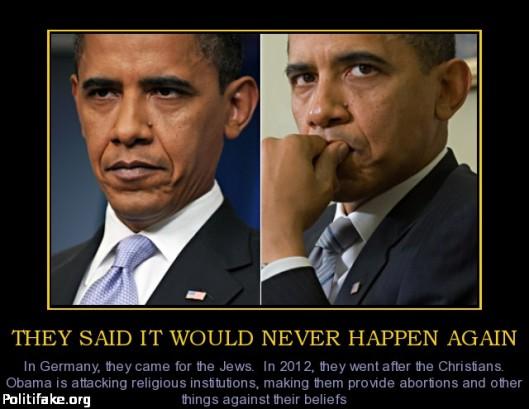 obama administration war on christians