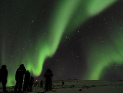 Aurora Sweden photo taken by Chad Blakley Abisko Natl Park, Sweden 03192012