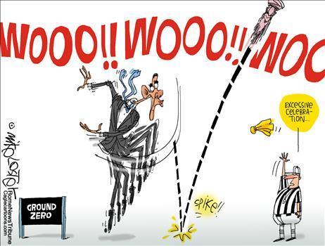 obama ball spiking