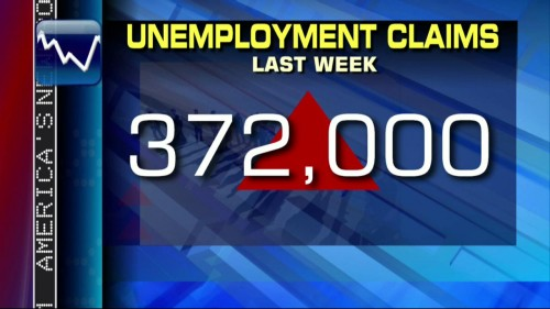 372,000 filed for unemployment this past week