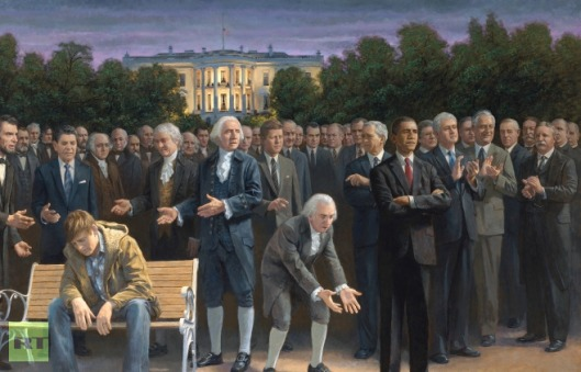 The Forgotten Man by Jon McNaughton, Political Artist.