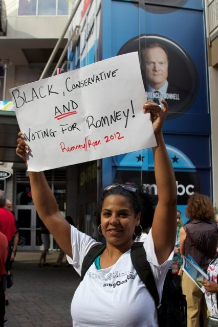 Kira Davis Black Conservative Blogger Kicked out of 2012 Democratic National Convention by MSNBC