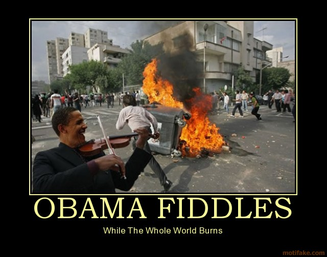 Obama and Captain Quee...