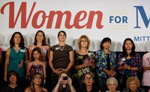 Women for Mitt.  Image Credit: Zumapress.