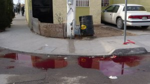Operation Fast and Furiosu Pools Of Blood On The Streets Of Villas De Salvarcar After A Massacre In Which Operation Fast And Furious Guns Were Allegedly Used Univision