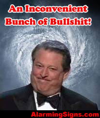 Al Gore Global Warming An Inconvenient Bunch of Bullshit