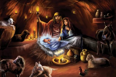 born in a manger by yori narparti