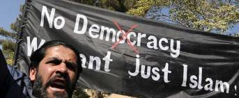 No Democracy Only Islam