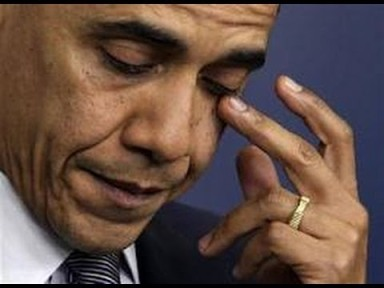 Obama Fake Tears
