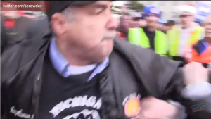 Union Thug Assault of Steven Crowder on Camera Michigan Right to Work Vote 12112012 Screenshot 001