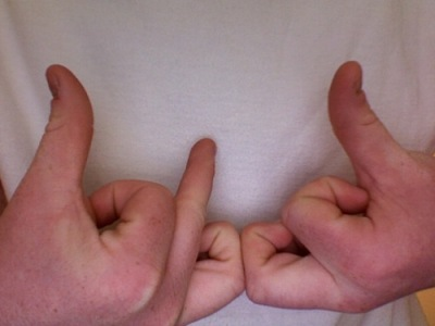 Gang Signal of Bloods.  Wikipedia.