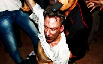 RELIGION OF PEACE: Amateur photograph of the body of Ambassador Chris Stevens posted to ahram.org.eg