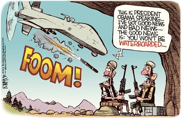 Obama Drone Strike Good News Bad News