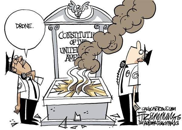 Obama Gone Jack Bauer on us = Image courtesy of David Fitzsimmons / Arizona Daily Star