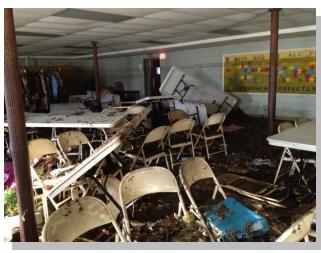 Presbyterian Church USA damaged by Sandy