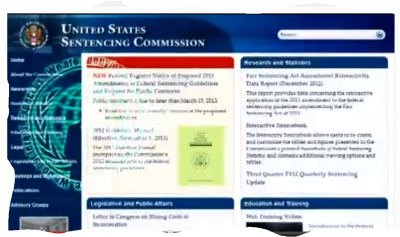 Screenshot Operation Fast Op Anonymous U S Sentencing Commission site