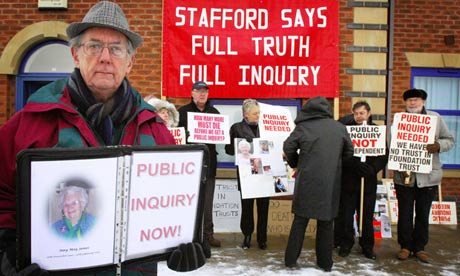 Stafford Scandal NHS Photograph by Rui Vieira PA  Image courtesy of the Guardian.co.uk.