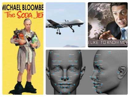 Bloomberg Cuomo Drones Facial Recognition
