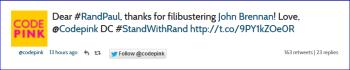 Screenshot Code Pink standwithrand Tweets 001