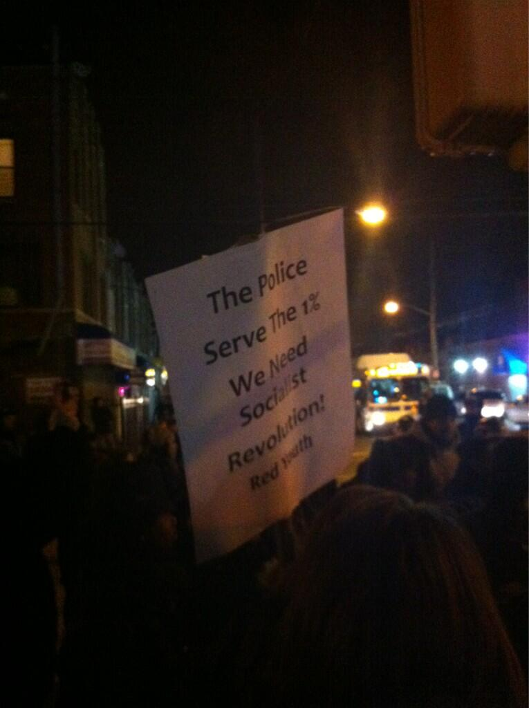 Signed displayed during Church Avenue protest 03142013 Courtesy  macfathom Nick Pinto