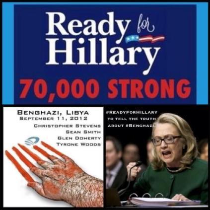 Benghazi 70000 strong Hillary Resist44