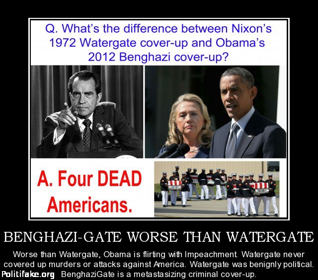 Benghazi cover up what difference does it make