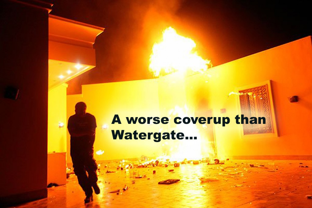 Benghazi worse cover up than Watergate