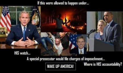 Bush Benghazi Cover up Obama Accountability