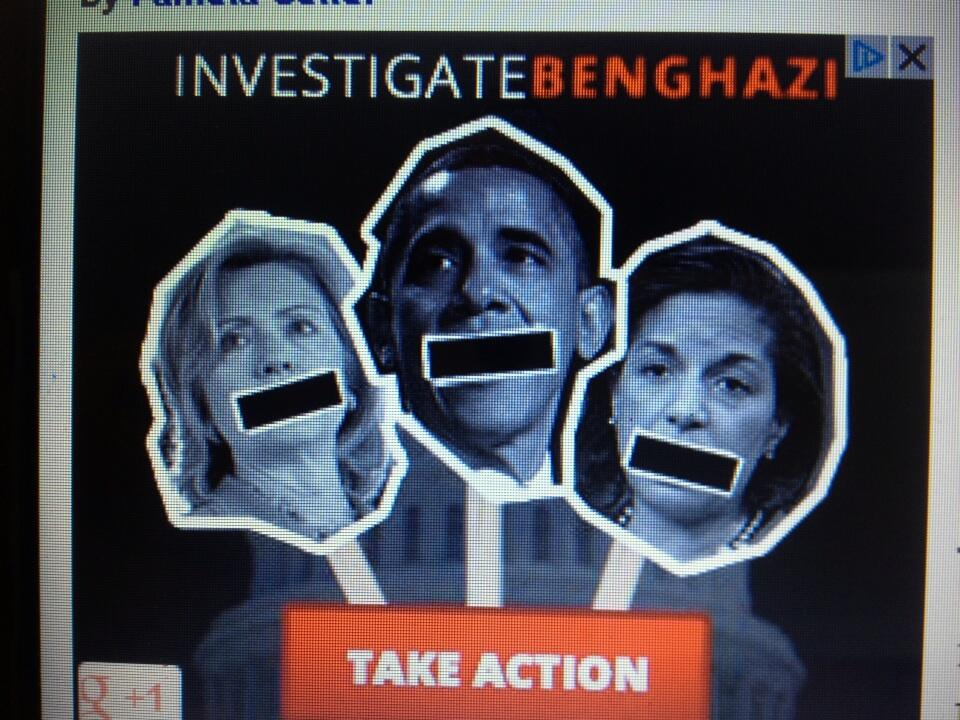 Clinton Obama Rice Crooked Who Pushed the Video Benghazi