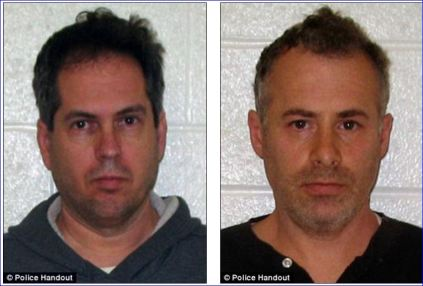 Gay married couple George Harasz and Douglas Wirth of Glastonbury, Ct accused of repeatedly raping adoptive sons