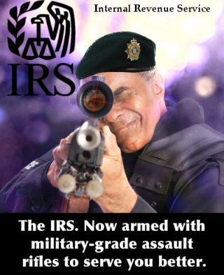irs police in their sites