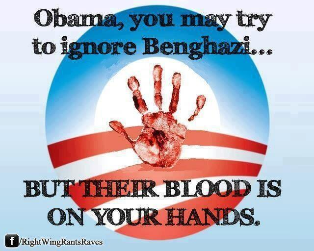 Obama Benghazi Blood on His Hands