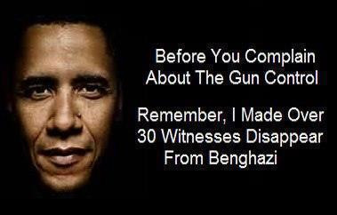 Obama Gun Control Benghazi