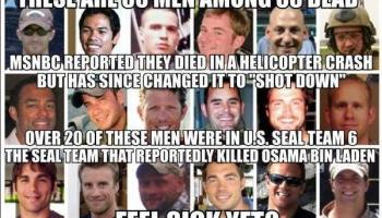 Navy SEAL Team VI Families to Expose Government's Culpability in