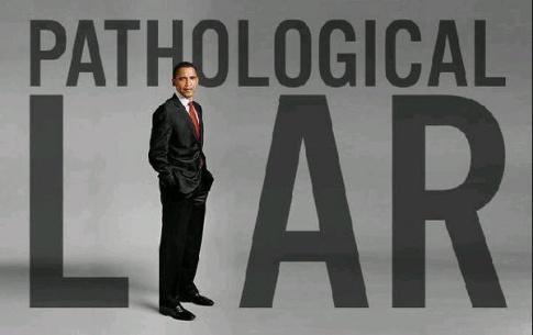 barack obama pathological liar