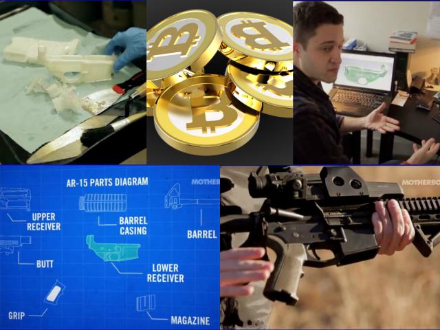 collage 3d gun