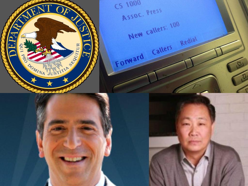 DOJ spied on James Rosen, Fox News reporter (bottom left) and Stephen Jin-Woo Kim, government adviser (bottom right)