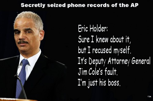 Eric Holder Recuse