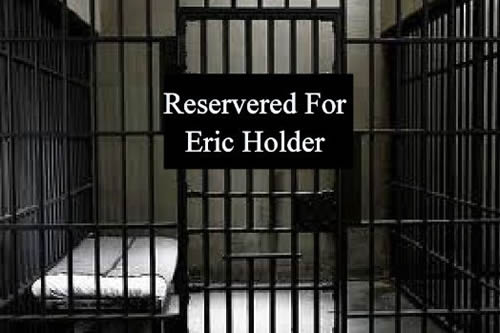 jail cell reserved for eric holder