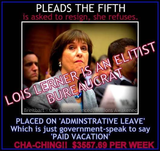 Lois Lerner an elitist bureacrat