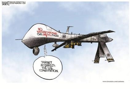 Obama drone constitution