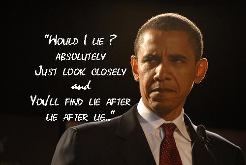 Obama lie after lie
