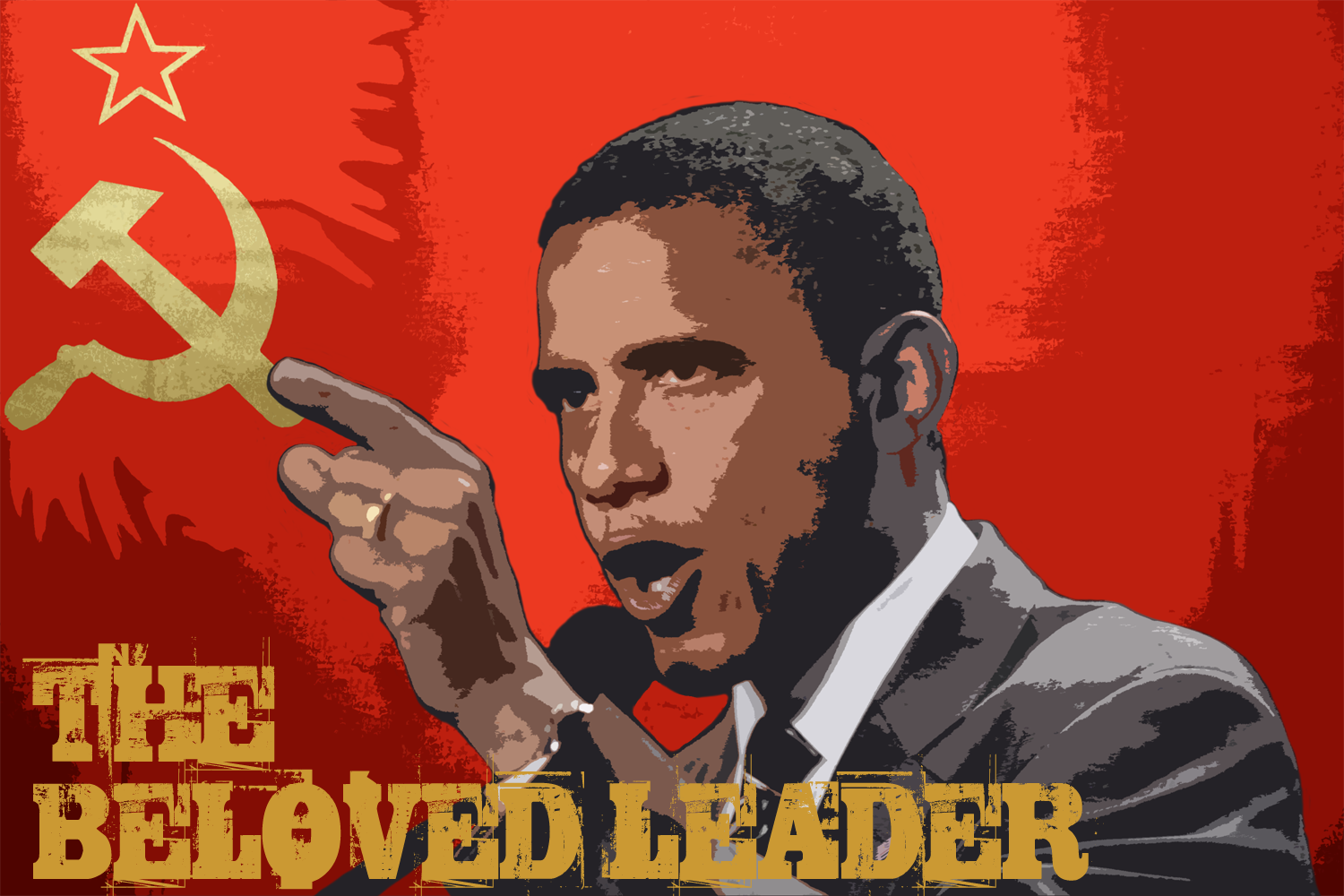 obama the beloved leader