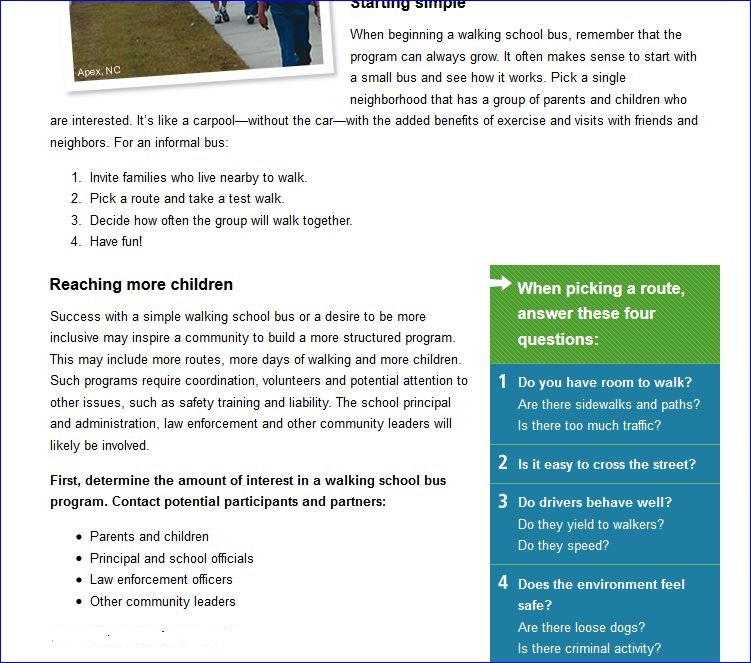 Michelle Obama Walking School Bus Agenda 002