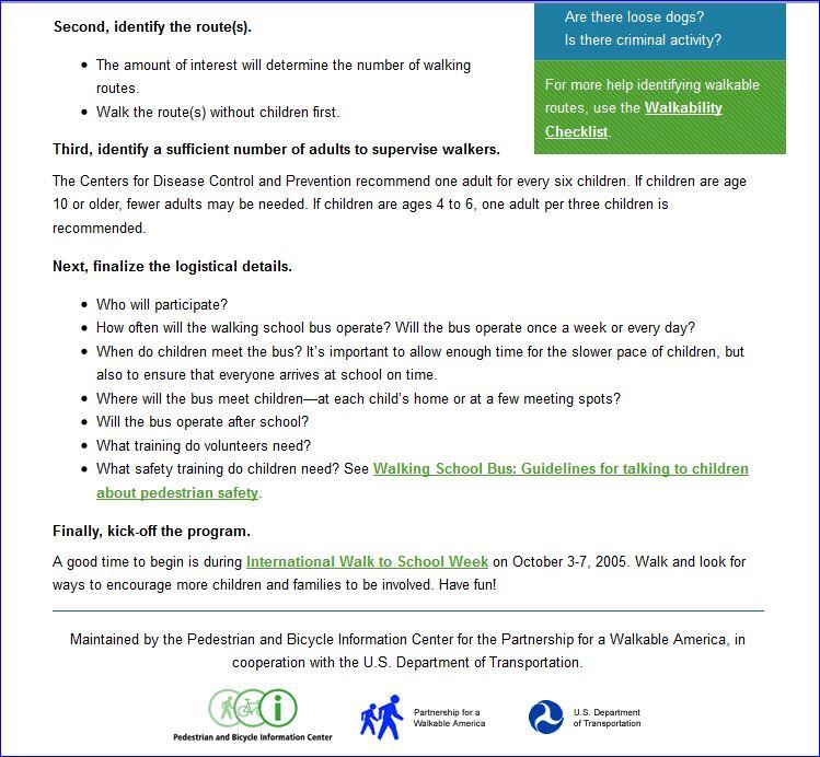 Michelle Obama Walking School Bus Agenda 003