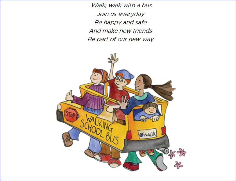 Michelle Obama Walking School Bus Agenda 004